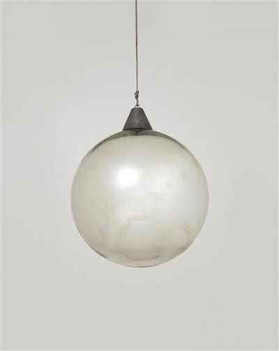 "Bauhaus, Mirror ball for the ""Metallisches Fest,"" Dessau (1929)"