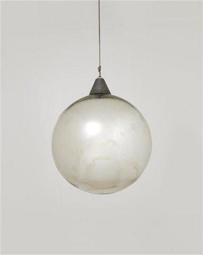 """Bauhaus, Mirror ball for the """"Metallisches Fest,"""" Dessau (1929)"""