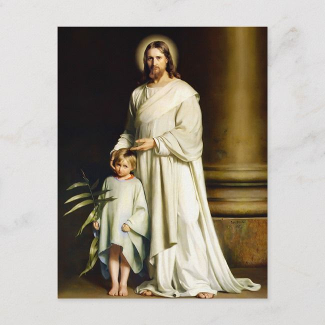 Art Print of Vintage Art Christ is Risen