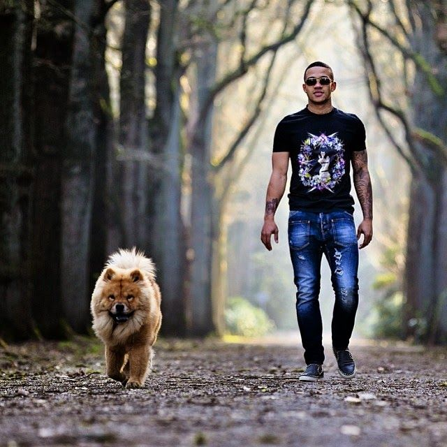 Memphis Depay (Nederland) & Simba