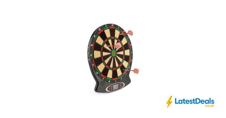 Electronic Dart Board Free C&C from Argos on Ebay, £22.49