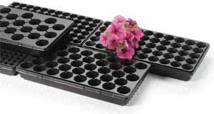 Propagation Trays - 50 cells per sheet, 10 sheets . $9.00. Propagation Trays provide extra depth for increased soil volume, allowing for a more mature plant and longer shelf life. Propagation Trays are connected in one sheet, but can be easily separated for individual use. These are the most economical inserts for growers who do not use plug extractors or transplanters. Used in conjunction with 1020 Trays.