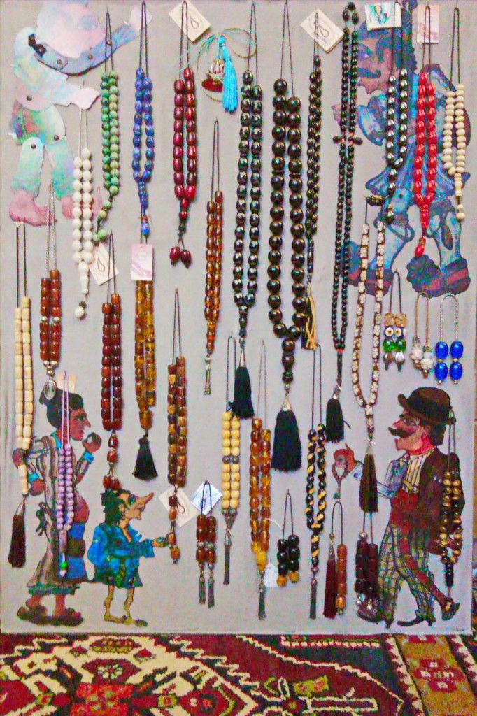 """An Improbably Short and Personal History of the Greek Komboloi or """"worry beads""""."""