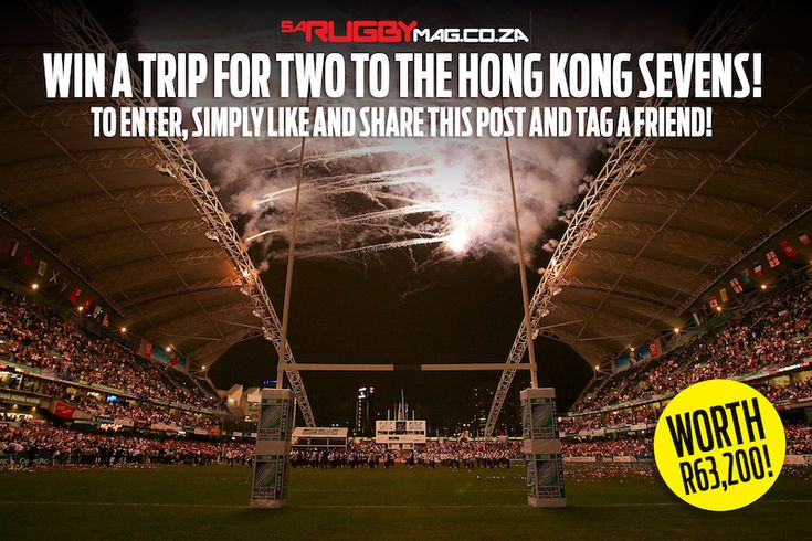 Win a trip for two to the Hong Kong Sevens!