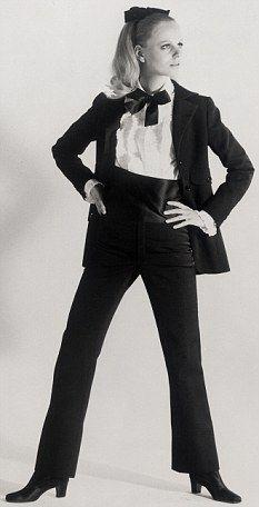 Le Smoking trouser suit 1966, Yves Saint Laurent