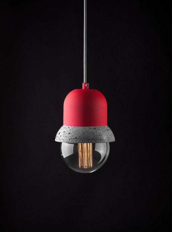 Maayan - lámpara colgante de hormigón ligero