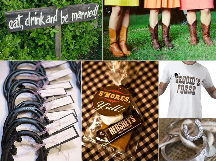 Western Wedding Gift Ideas: 41 Best Images About Texas BBQ Cowboy Party On Pinterest