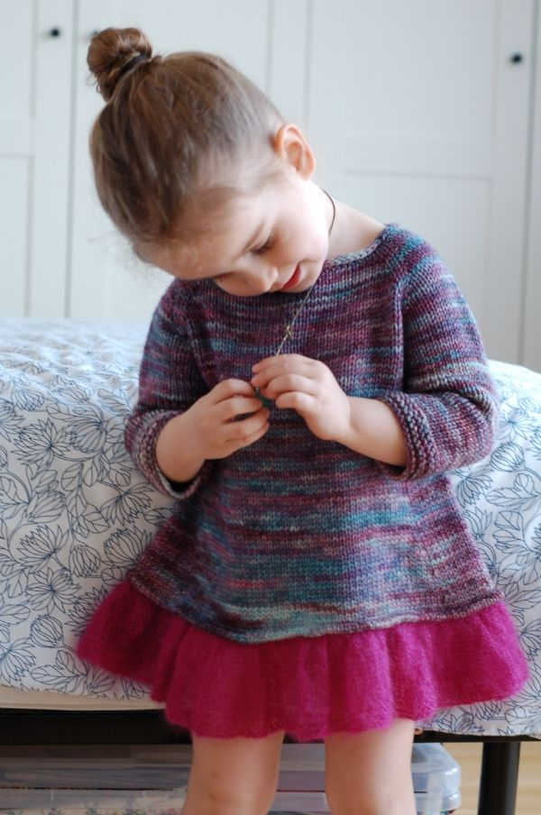 Tutu Top by Frogginette Knitting Patterns
