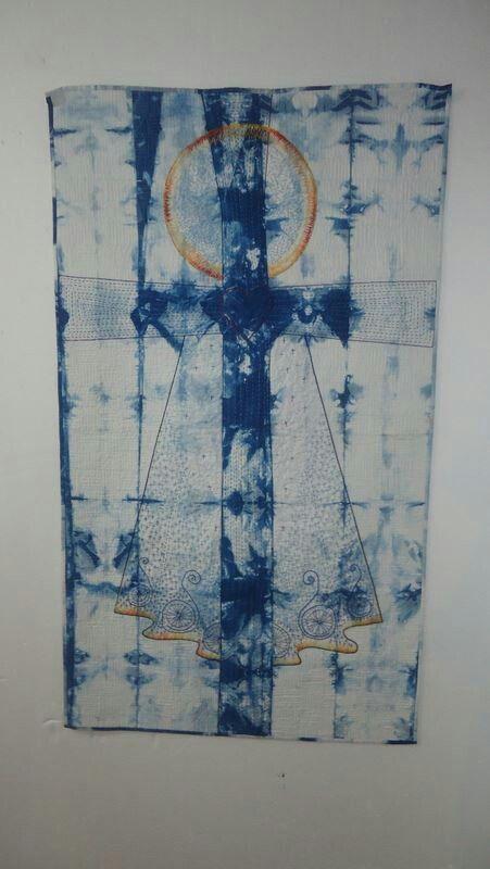 On the third day - wholecloth indigo