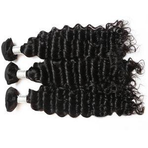 【Malaysian Diamond Virgin Hair】aliexpress hair Malaysian deep wave remy hair cheap hair bundles wholesale  deep wave straight hair weave hair extensions online