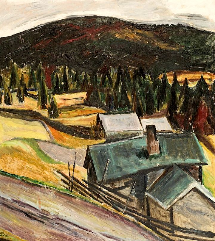 "Henrik Sørensen - ""Wet Autumn"" (1916)"