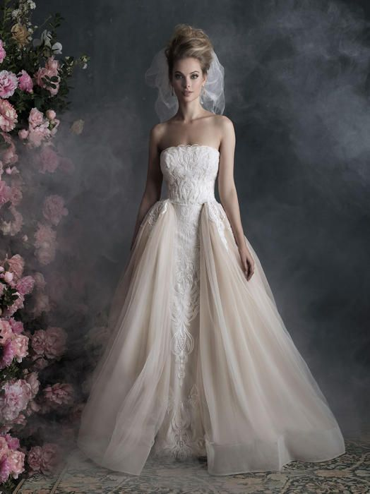 Allure Bridals Couture C400  Allure Couture Bridal Best Bridal, Prom, and Pageant gowns in Delaware