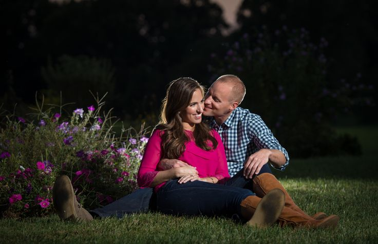Analise and Ben snuggling up at their Engagement Session!