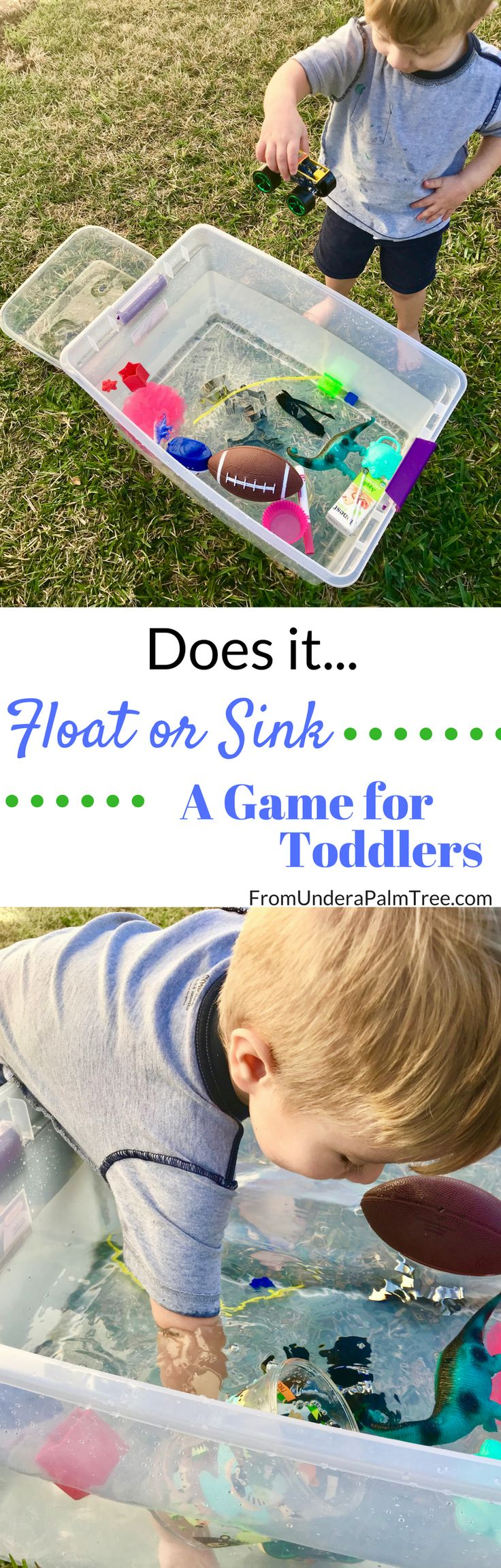 Games for Toddlers | Float or Sink Game for Toddlers | Science Games for Toddlers | toddler games | summer fun for kids | game ideas for toddlers | outdoor games for toddlers | outdoor games for kids | fun outdoor games for kids | kids games | water games for kids | water games for toddlers | science games |