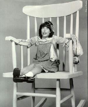 """I think this was Lilly Tomlin, & she would say, """"....and that's the truth!!!"""" And stick out her tongue & blow!!! Not sure what show she was on,  maybe Laugh In???"""