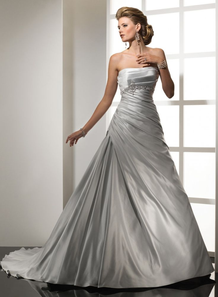 41 best Silver Bridesmaid Dresses Ideas images on Pinterest | Dress ...