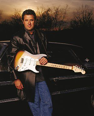 Vince Gill.  Born in Norman, Oklahoma. (Country music singer)
