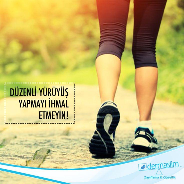 Günde yarım saat yürümek hem bedeninize, hem zihninize, hem de ruh halinize iyi gelir. Düzenli yürüyüş yapmak;  *Uykusuzluğu azaltır. *Sindirimi kolaylaştırır. *Kan basıncını düzenler. *Yorgunluk hissini engeller. *Solunum kapasitesini artırır.