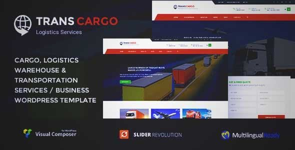 Download and review of Trans Cargo - Transport & Logistics WordPress, one of the best Themeforest Corporative themes {Download & review at|Review and download at} {|-> }http://best-wordpress-theme.net/trans-cargo-transport-logistics-download-review/