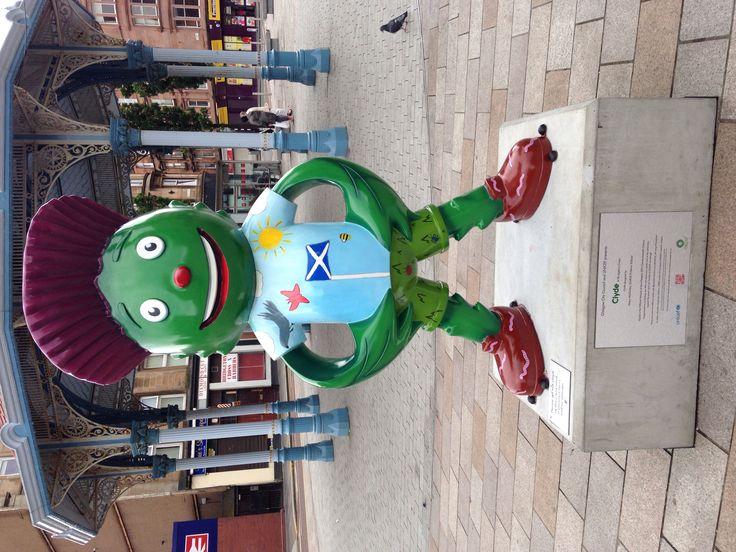 Clyde at Bridgeton #clydestrail