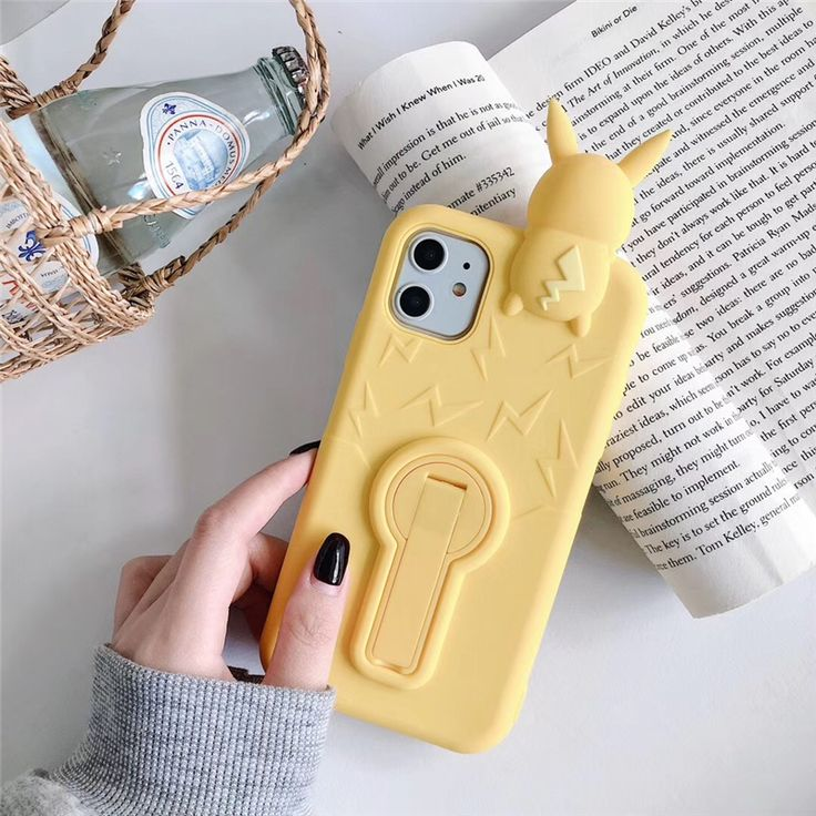 For iphone 11 pro new style anime cartoon 3d pika cute