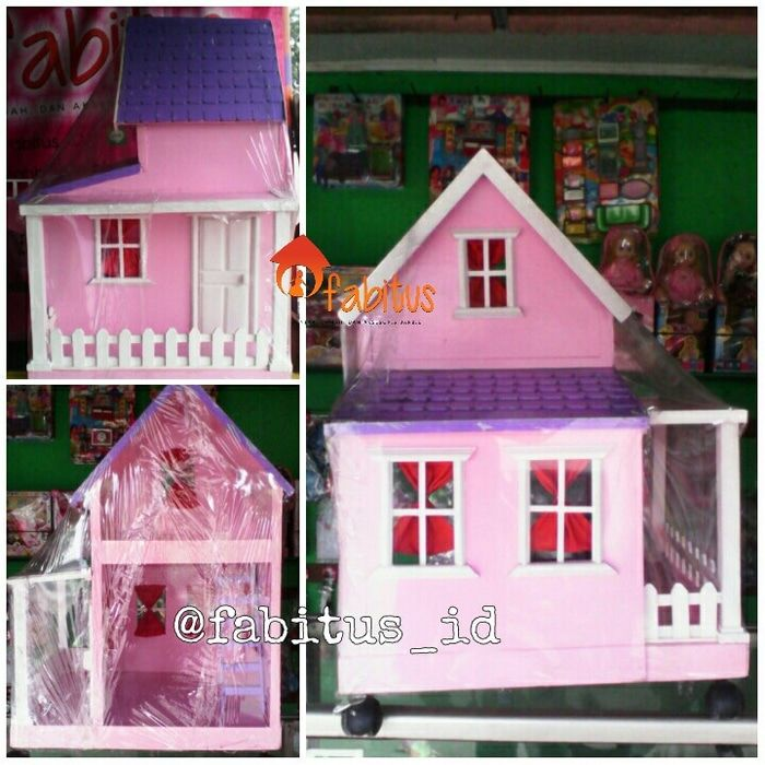 Fabitus Barbie House : Elmer