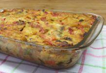 Λαζάνια με λαχανικά(3 μονάδες)