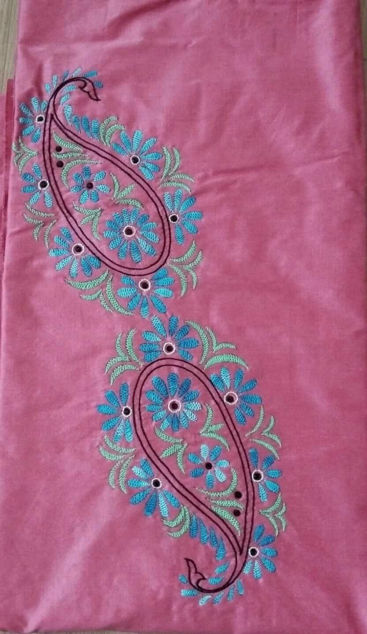 124 Best Hand Embroidery Images On Pinterest | Blouse Designs Blouse Patterns And Hand Embroidery