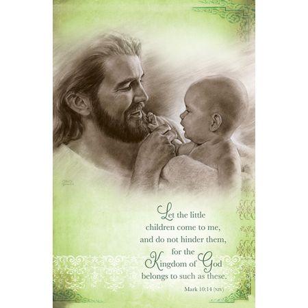 Baby Dedication Jesus Holding Baby Bulletins Christian