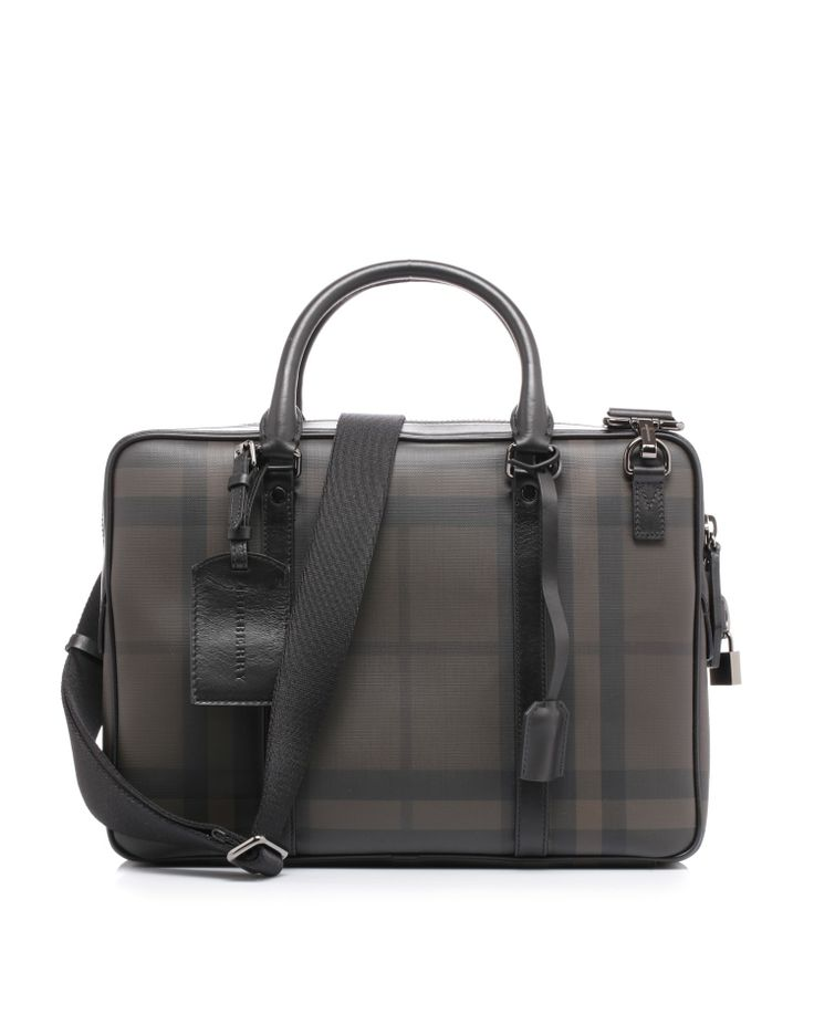 Briefcase by @Burberry