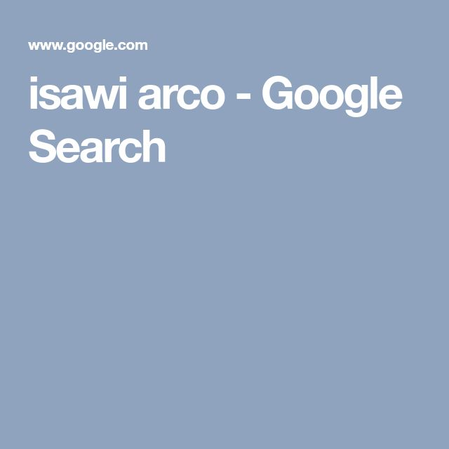 isawi arco - Google Search