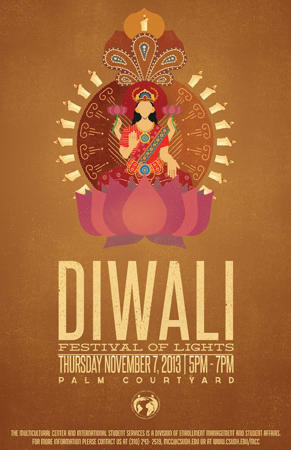 Diwali Poster on Behance