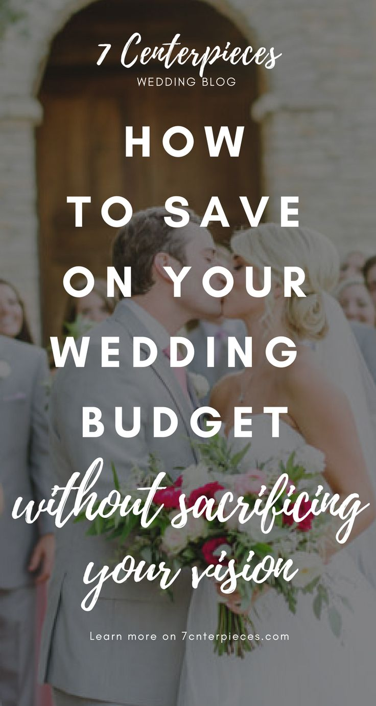 I was so tired of reading wedding budgeting articles telling me I couldn't have my dream wedding on my budget. But then I came across this article and it gave me SO MANY great tips for pulling off my dream wedding on a limited budget. If you're planning a wedding on a budget-PIN IT NOW! You won't regret it. #cheapwedding #weddingbudget #dreamwedding #7centerpieces