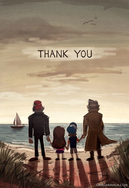Well, Gravity Falls is ending. I'm... Gonna cry now