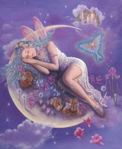 EVENING DREAMS PAINTING by Judy Mastrangelo Art