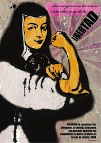 Sor Juana Inés de la Cruz was an inspiration to women and became their voice in the fight against oppression.