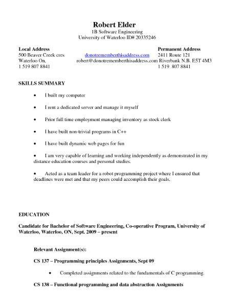 517 best Latest Resume images on Pinterest Latest resume format - robot programmer sample resume