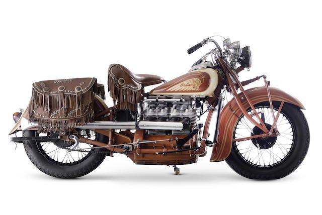 1938 Indian 77.21ci Model 438 Four Frame no. 438577 Engine no. DCH577