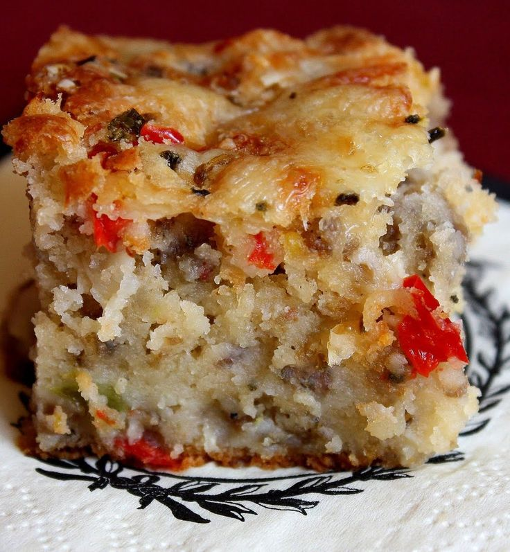 Southern Sausage Cake (1) From: Elizabeth's Edible Experience, please visit