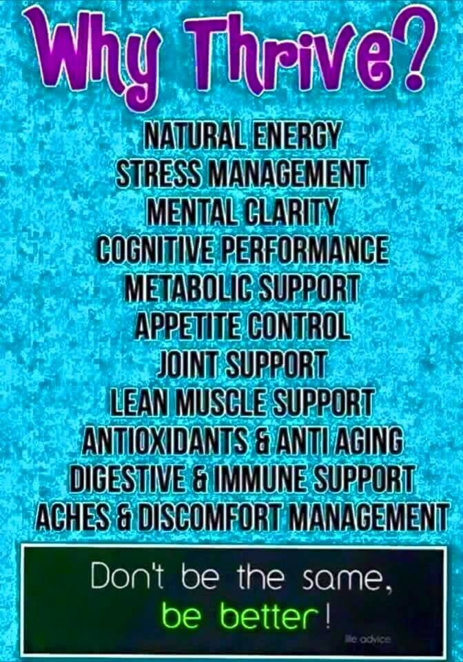 Yes, I THRIVE and I'm not giving my Thrive Life back! Create your FREE Customer or Promoter ... www.relisea.le-vel.com http://Illuminato15.us