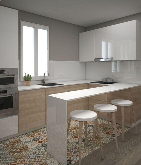 Cinco superficies que debes mantener siempre ordenadas - Colores de pintura para cocinas modernas ...