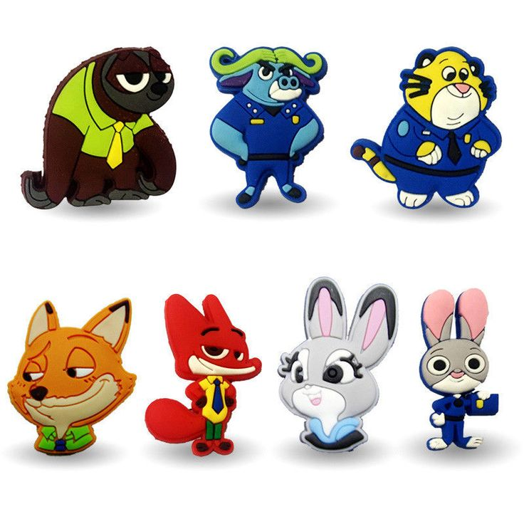 20PCS Zootopia Cartoon Icon Pin Brooch Pins Button Badge Backpack Hat Decoration #Unbranded