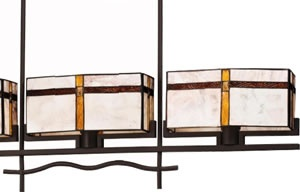 Art Deco, Art Nouveau, Rustic & Eclectic Pool table & Island Lights - Brand Lighting