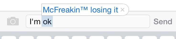 When you can't even hide your true feelings from your phone