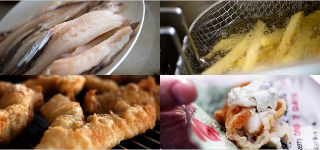 Fish & Chips with Tartare Sauce - Julie Goodwin recipe