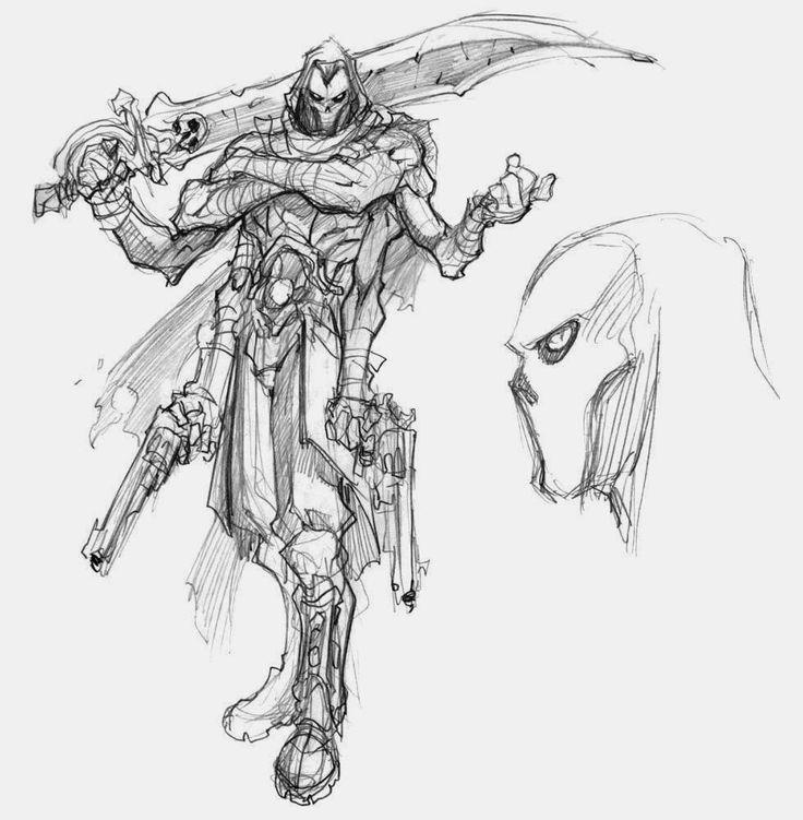 Darksiders II - Concept Artwork i Character Art | Synteza historii i sztuki