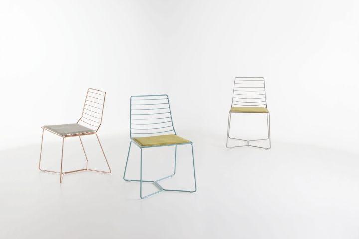 Металлические стулья Antia chair