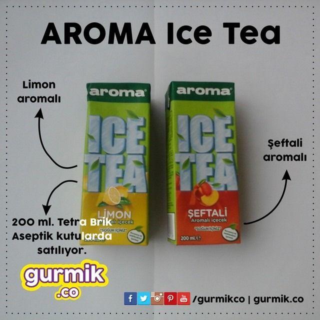 Aroma'dan çay serinliği: Aroma #IceTea. Koruyucu ve renklendirici içermediğini yazmazsak olmaz. :)