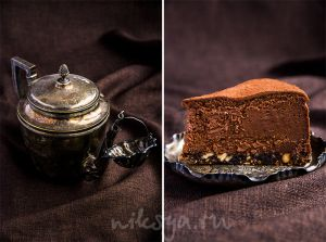 Шоколадно-бархатный пирог