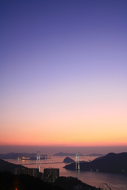 Sunset at Nagasaki